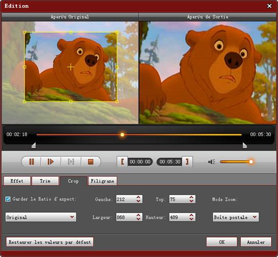HD/MTS/MOD/TOD Video Converter: <b>Convertisseur</b> HD vidéo...