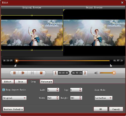 iphone itunes transfer Video-crop